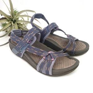 Baretraps Nanci Wedge Sandals Size 7.5